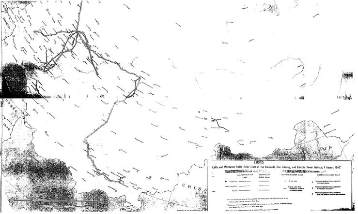 Russia network 1962